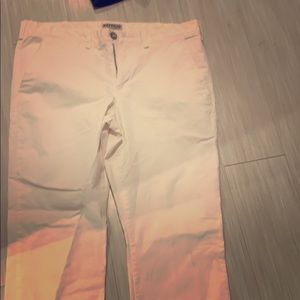 New Spring Collection Express White Chino Pants 👖